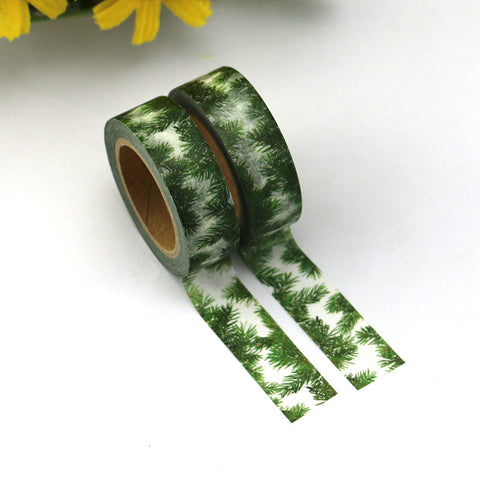 Washi tape - Green Foliage