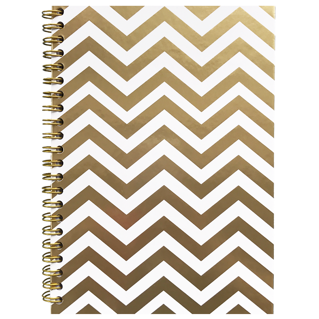 Gold Chevron Lines