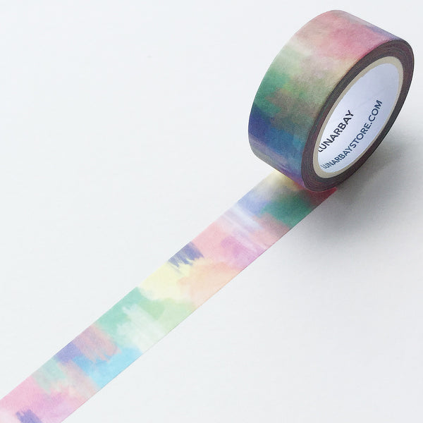 Pack of 3 - Watercolours Washi Tape Bundle