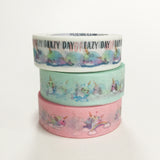 Pack of 3 - Whalicorns Washi Tape Bundle