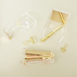 Acrylic Tape Dispenser (Gold)