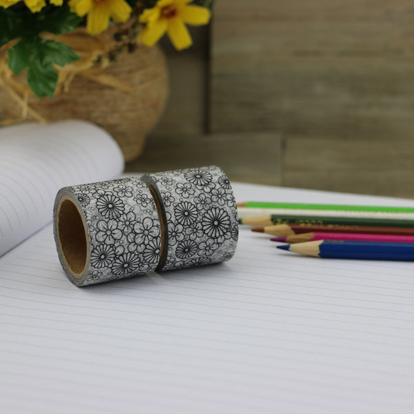 Washi tape - Colouring Flower Garden