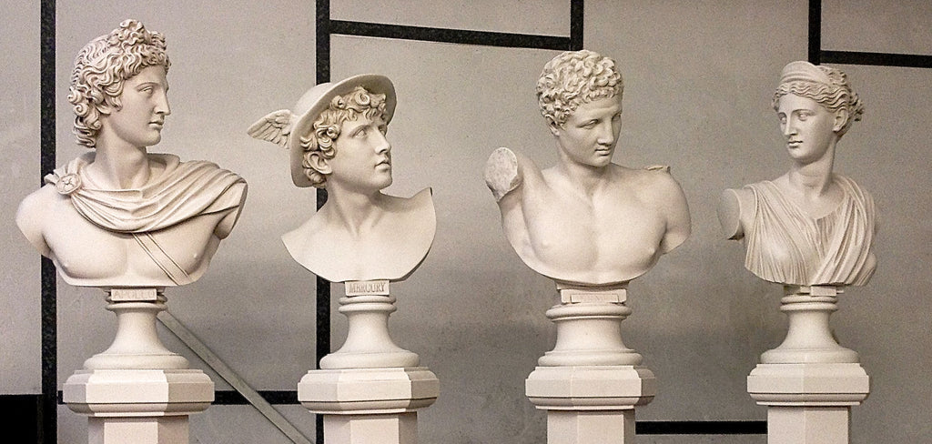 Ancient Roman Bust Sculpture- <br>A way to immortalize