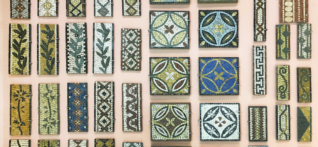 Roman mosaic patterns - A Visual Glossary