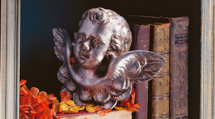 Cherub statues and Angel garden statues