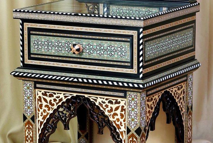 Moroccan Bedside table