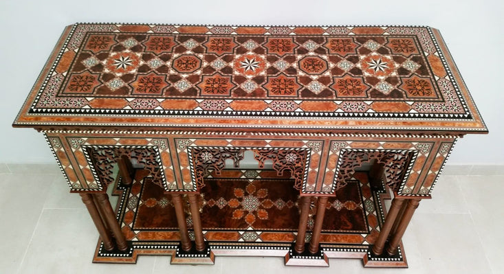 Moroccan Console Table