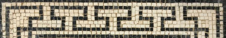 Mosaic pattern: T meander