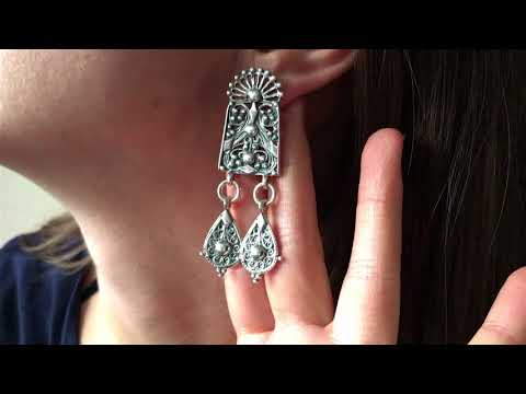 ancient greek attica earrings video thumbnail