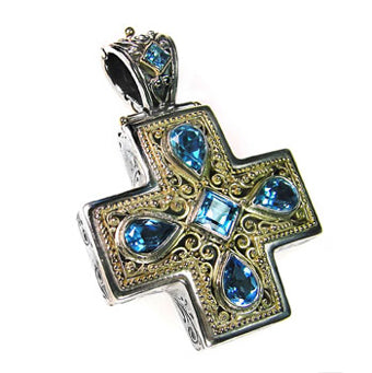 Byzantine and medieval jewelry for sale the ancient home byzantine cross necklace mozeypictures Image collections