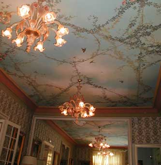 Ceiling fresco of a project