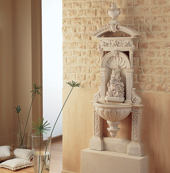 Classical fountain for sale picture taken from our online shop