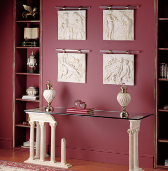 classical wall plaques