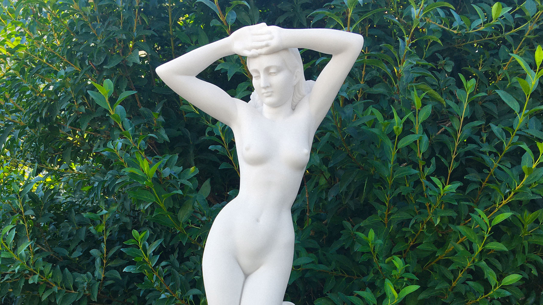 venus de milo statue replica video thumbnail