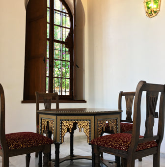 Islamic furniture interior
