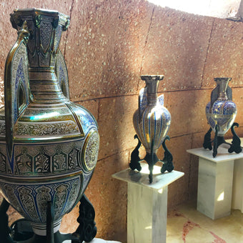 Islamic lusterware decor interior