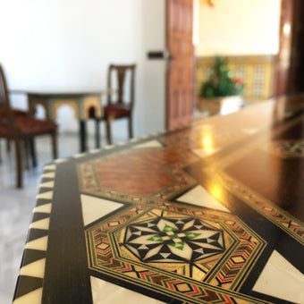 Islamic furniture patterns
