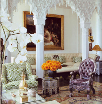 Moroccan furniture interior