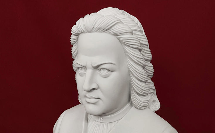 Musician bust collection