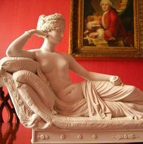 European antique statue interior