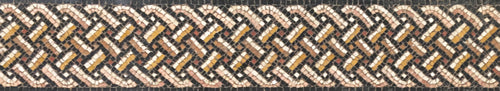 Mosaic pattern: Five-strand guilloche