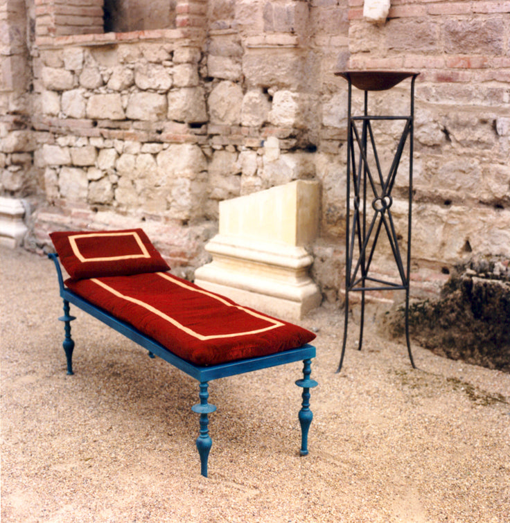 Roman furniture reproduction in an interior