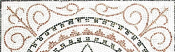 Mosaic pattern: Scroll