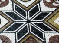 Mosaic pattern: Star of lozenges