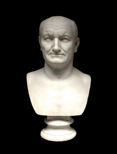 Vespasian Roman Bust Sculpture