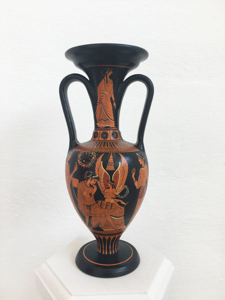 Ancient Greek Red-Figure Apulian Vase Pottery - The Ancient Home