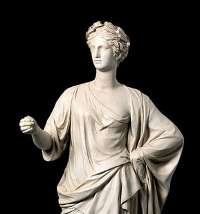 Venus Crowned with Laurel Wreath Life-size Statue (Large)