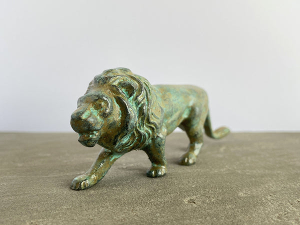 Bronze Lion Statue (Small)