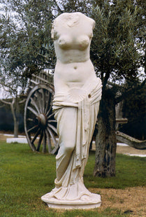 Venus with Clamshell Torso Life-size Statue (Large)