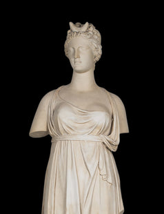 Diana Life-size Statue (Large) - Roman Goddess of Hunting as Moon Goddess