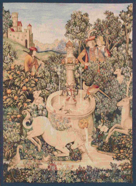 The Unicorn at the Fountain Tapestry