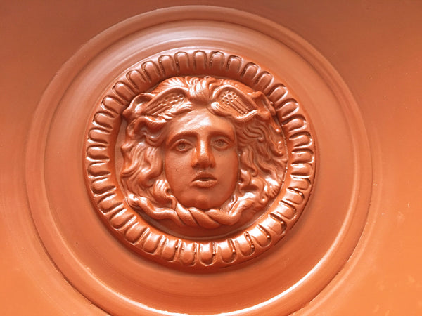Roman Patera with Medusa Clay