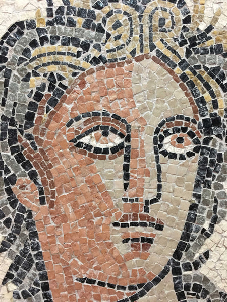Euterpe, Muse of Music - Incomplete Mosaic