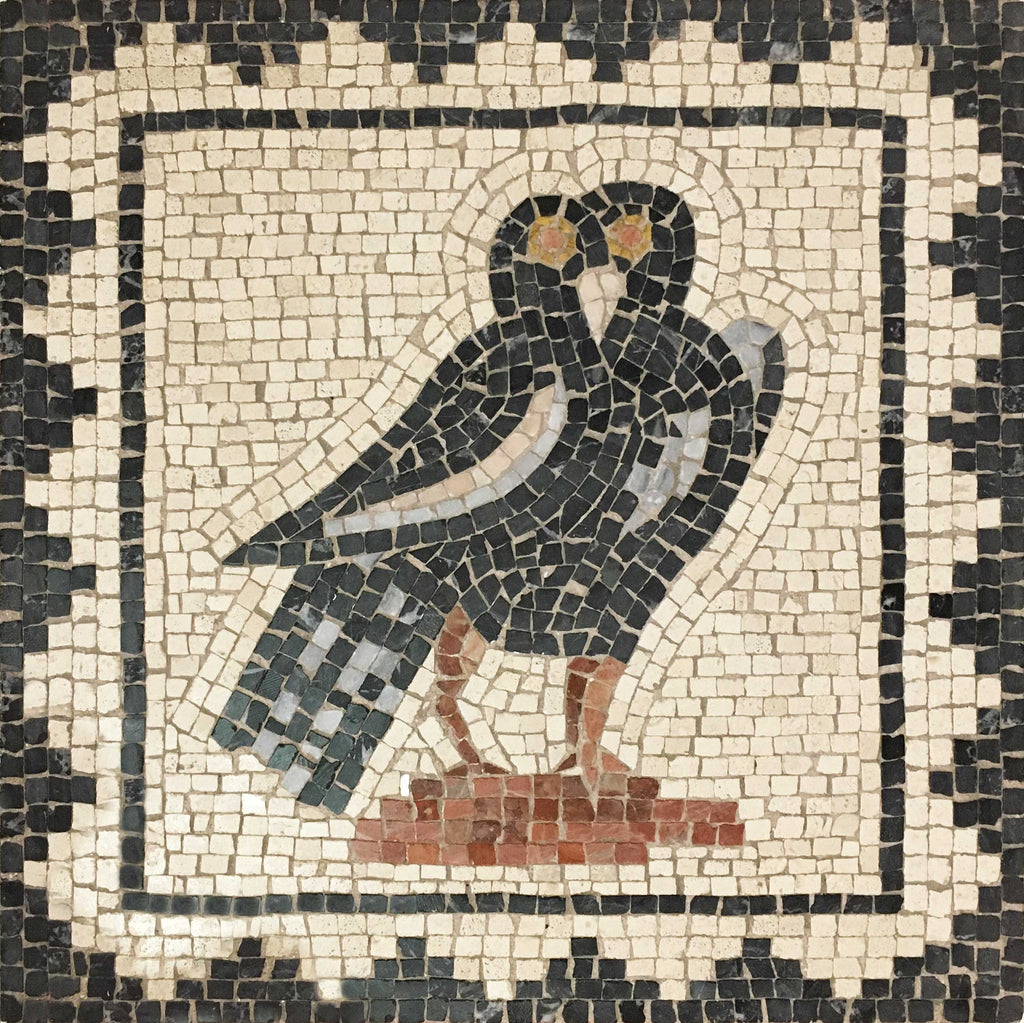 bird from the house of birds mosaic - Mosaic Tile House 2015