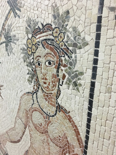 Goddess of Autumn Mosaic
