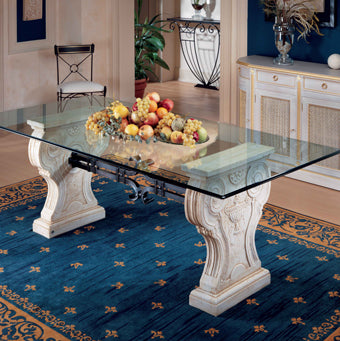 Themed interior design project with Roman table