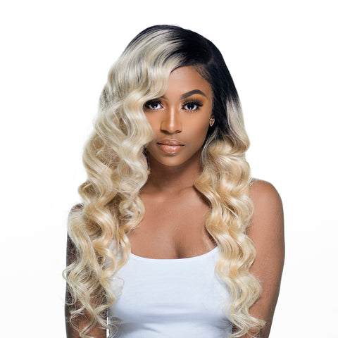 613 Bombshell Black Roots Body Wave