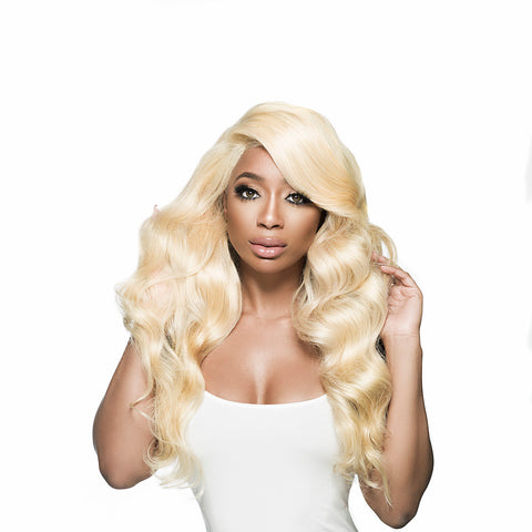 613 Bombshell Totally Blonde - Blonde Body Wave