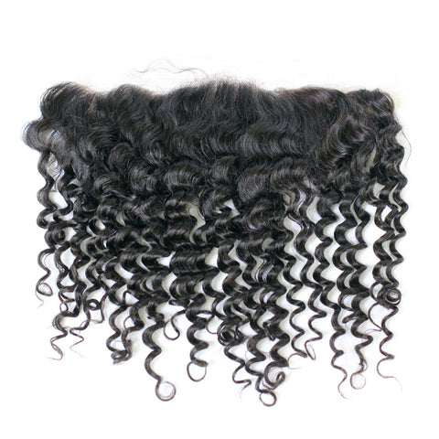 Textured Collection Cape Verdean Exotic Curly Frontal
