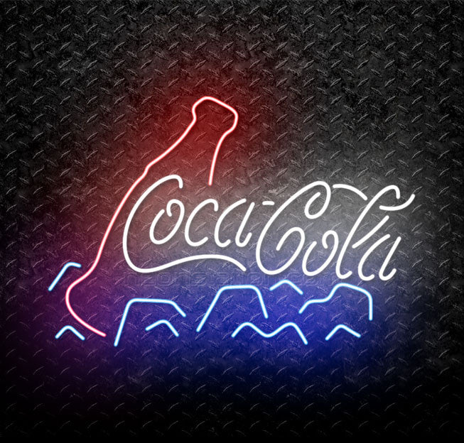 Coca Cola Coke Ice Neon Sign