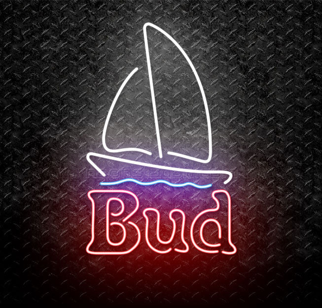 Bud Light Sail Boat Neon Sign
