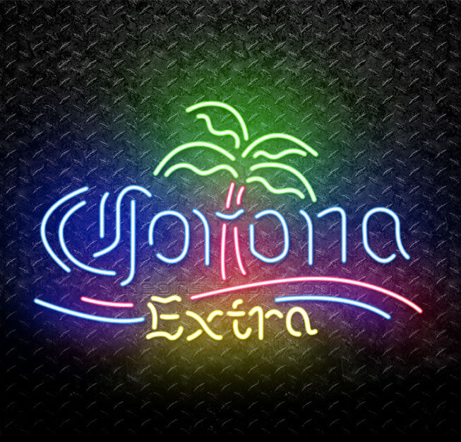 Corona Extra Palm Tree Neon Sign