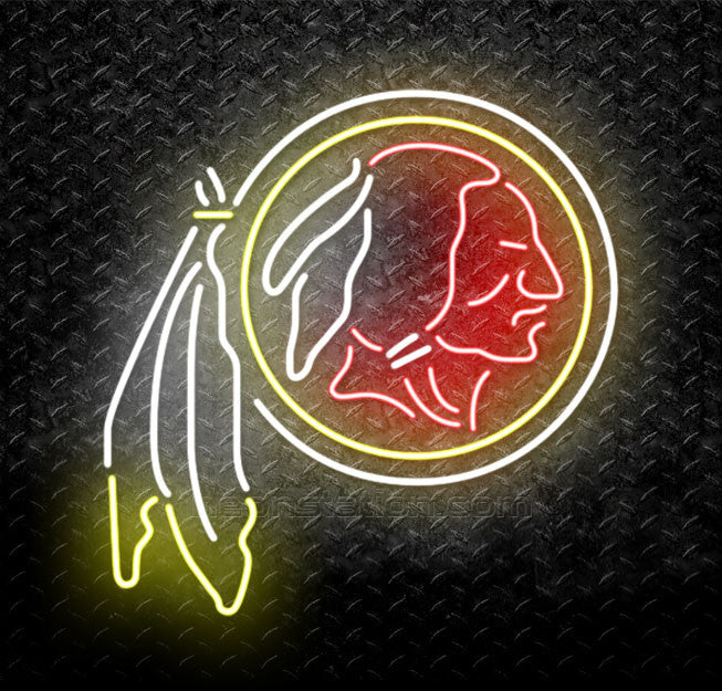 NFL Washington Redskins Neon Sign