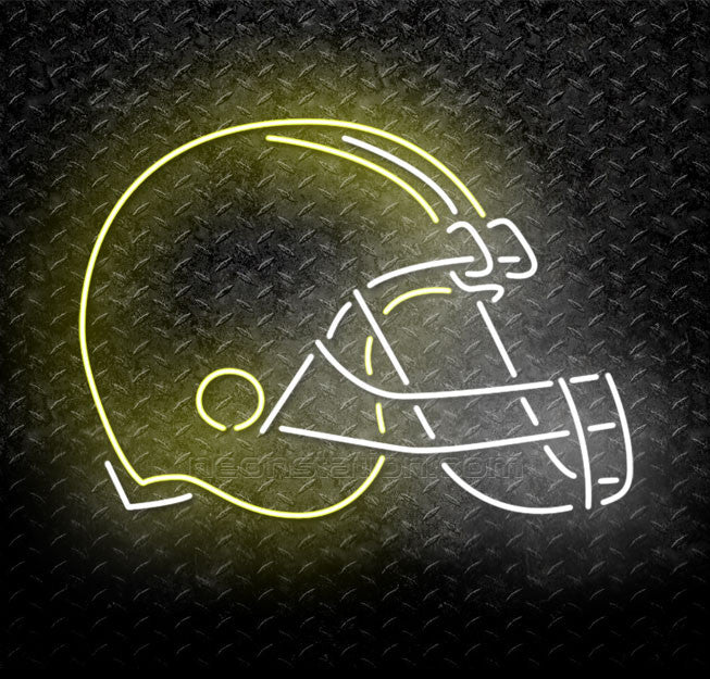 NFL Helmet Neon Sign