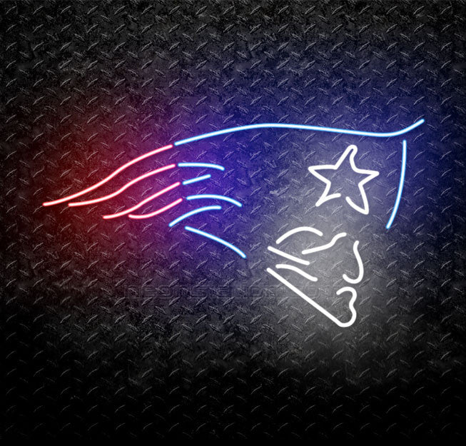 NFL New England Patriots Neon Sign