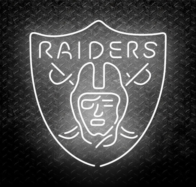 NFL Oakland Raiders Neon Sign